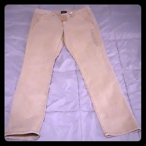 NWT American Eagle Khaki Jeans Size 12