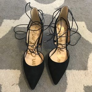 Lace up Heels - never worn!