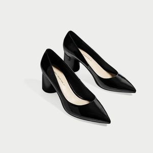 Zara Basic Collection Pointed Toe Pumps