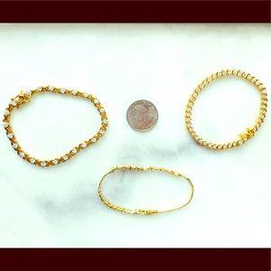 Mystery Gold Tennis Bracelet Bundle