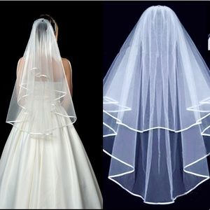 """Bride to be"" Two Layer Bridal Wedding Veil"