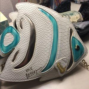 Betsy Johnson fish bag