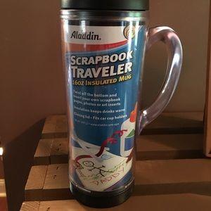 Aladdin Scrapbook Traveler Mug