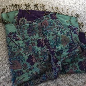 Floral Scarf from Paris