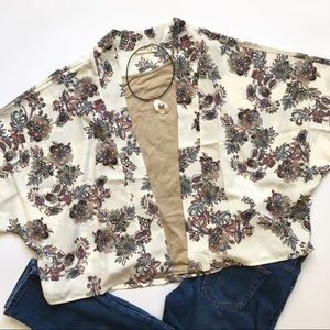 Sweaters - Floral Kimono XS / S