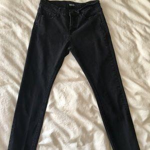 BDG mid-rise black jeans size 27w26l