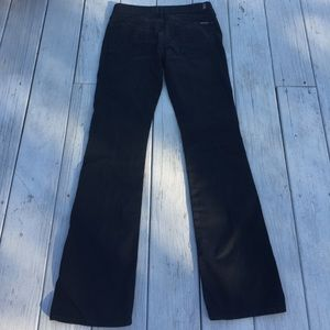 7 For All Mankind Bootcut Black Jeans 29*