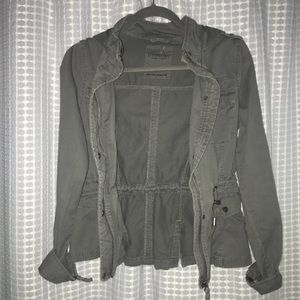Aeropostale Army Jacket with pockets and zippers