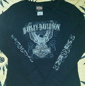 🔥🔥Harley Davidson Long sleeve T shirt 🔥🔥
