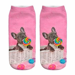 Lollipop Frenchie Socks