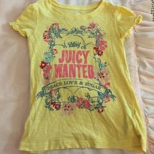 Juicy Couture top size 7