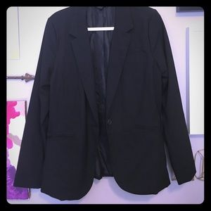Mossimo Large Black Blazer