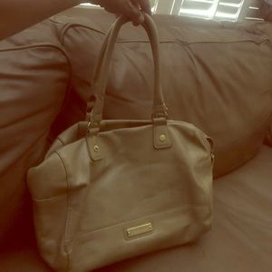 Huge like new Steve Madden leather bag