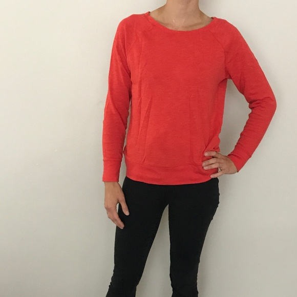 64% off Old Navy Sweaters - Old navy orange sweater from ...