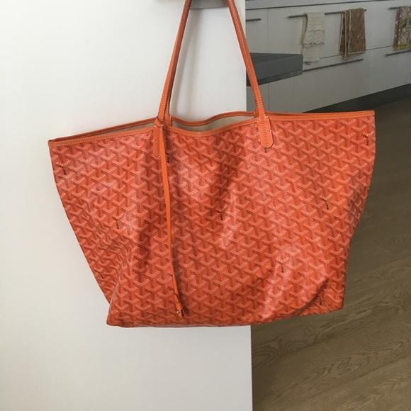 03a14c0ae1 Goyard Handbags - Authentic Goyard Saint Louis GM orange tote