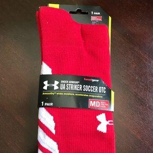 Under armour striker soccer socks otc