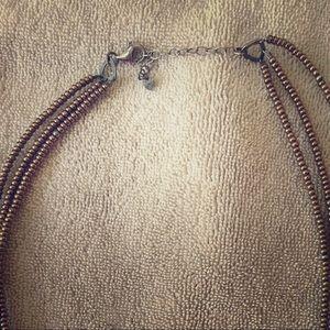 Jewelry - Silpada bronze beaded necklace
