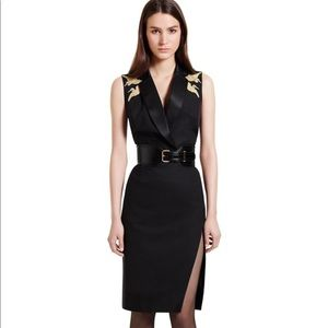 Altuzarra for Target black Midi Dress