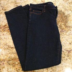 Banana Republic Skinny Dark wash jeans size 31