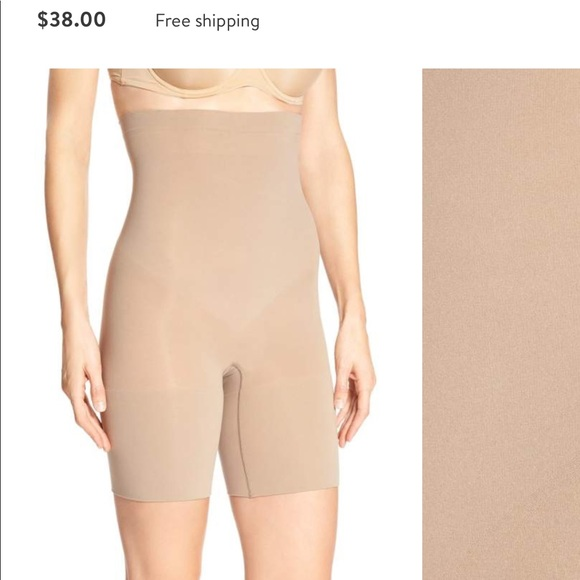 6eeae8d082 Spanx higher power shorts in nude