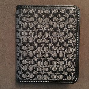 Authentic Coach Signature Card Holder Wallet