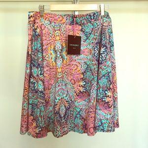 Cynthia Rowley circle skirt size L
