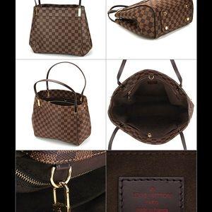 New Louis Vuitton Marylebone Damier Satchel