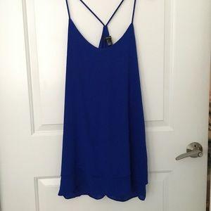 Cobalt Blur Slip Dress