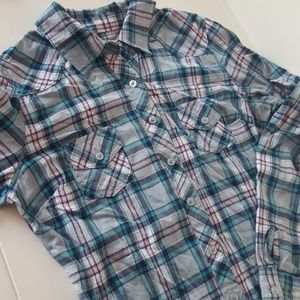 Blue and Pink Flannel