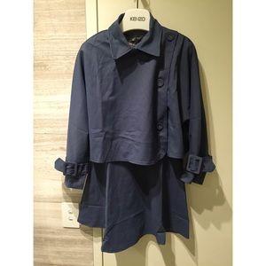 Blue Coat Top Dress