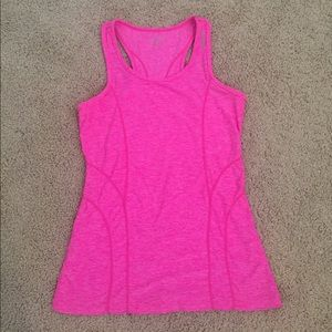 Bright Pink Workout Top