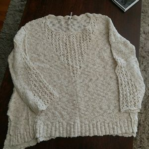 Free People sweater. Over sized.