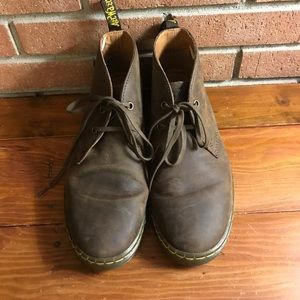 Dr. Martens Leather chukka Boots Size 8 run big