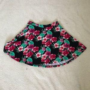 Floral Circle Skirt Small