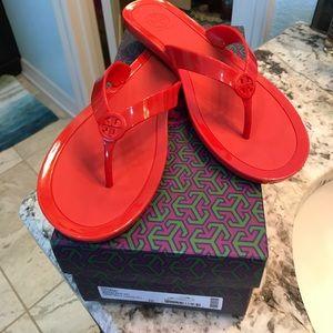 Tory Burch sandals!