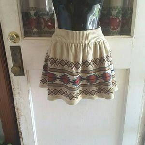 Pull&bear knit skirt