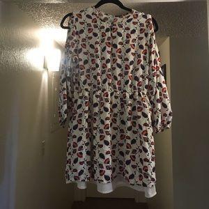 Forever21 Cold Shoulder Mini Dress