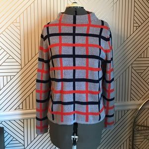 d3c5fae2c5e20 Old Navy Sweaters - Cozy Plaid mod grid mock neck sweater gingham