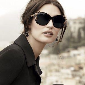 D&G Dolce & Gabbana baroque designer sunglasses