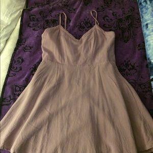 Lavender mini dress from forever21