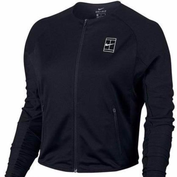 8acd5e72935f NWT Nike Court Dry Women s Tennis Jacket Sz XS