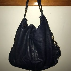 Rebecca Minkoff Nikki Hobo Shoulder Handbag Navy
