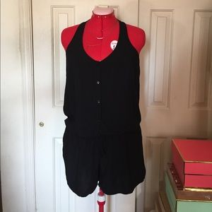 Old Navy Button Front Romper