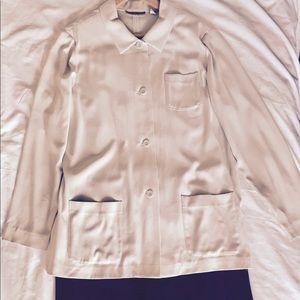 Jackets & Blazers - Beige blazer size 16