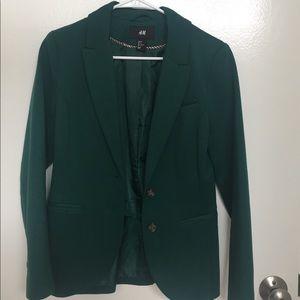 H&M Forest Green Blazer