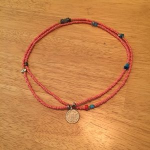 Caribbean single strand necklace