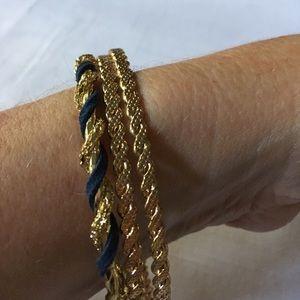 Jewelry - Set of 3 Goldtone Bangles
