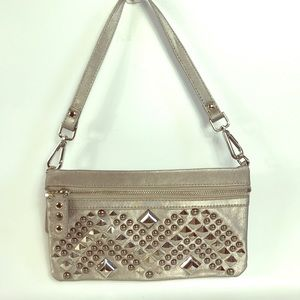 SALE❤️ Nicole Lee wristlet/ hand bag silver