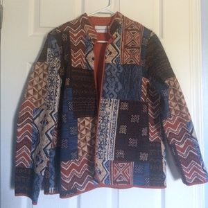 Alfred Dunner fall colored cardigan