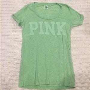 Victoria secret PINK scoop neck Tshirt size L